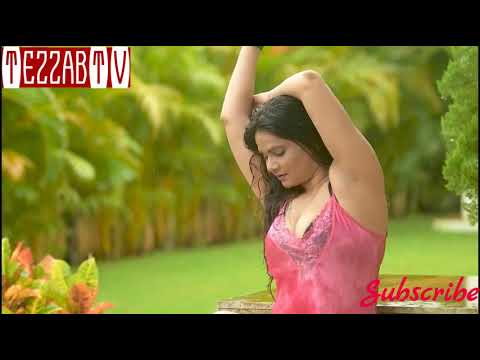 Young Lady Showing Thick Shaven Lickable Armpits And Deep Navel   Sareelover Photoshot   TezzabTV