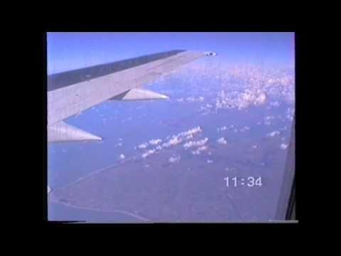 British Midland Boeing 737 flight Frankfurt to London Heathrow 1995