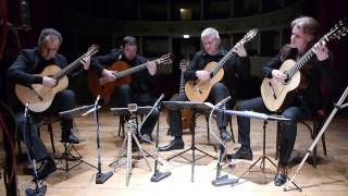 Take Four Guitar Quartet, Antonin Dvorak, Serenade for Strings, Moderato