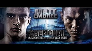 THAI FIGHT 2015 May 2 Samui Saenchai vs Matt Embree