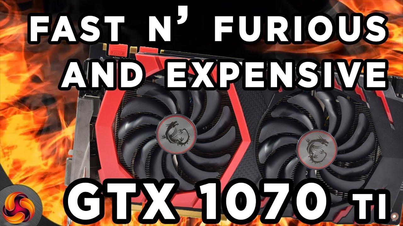 MSI GTX 1070 Ti Gaming 8G Review - fast, but too expensive?