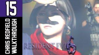 Resident Evil 6 Walkthrough - Part 15 That Shut Her Up Let