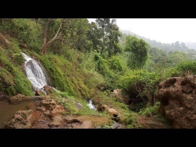 Namtok Waterfall at Hsipaw. MYANMAR