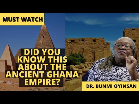 DID YOU KNOW ABOUT ANCIENT GHANA EMPIRE? | Sankofa Pan African Series | Ghana Empire |