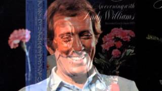 andy williams-6 live in japan-1973ー6 Love theme from Godfather