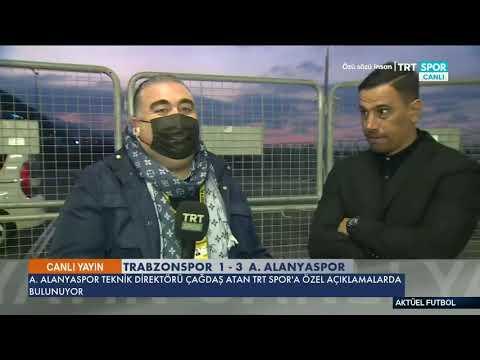 Alanyaspor Teknik Direktörü Çağdaş Atan'ın Trabzonspor Maçı Sonrası Açıklamaları