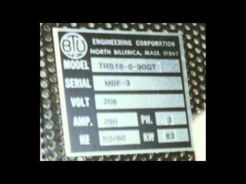 9118 BTU Furnace TRS 18-5-90GT Reflow Furnace