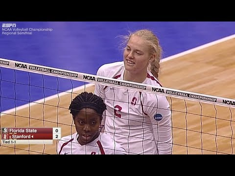 Stanford v Florida State, 12/09/2016 Regional Semifinal Match