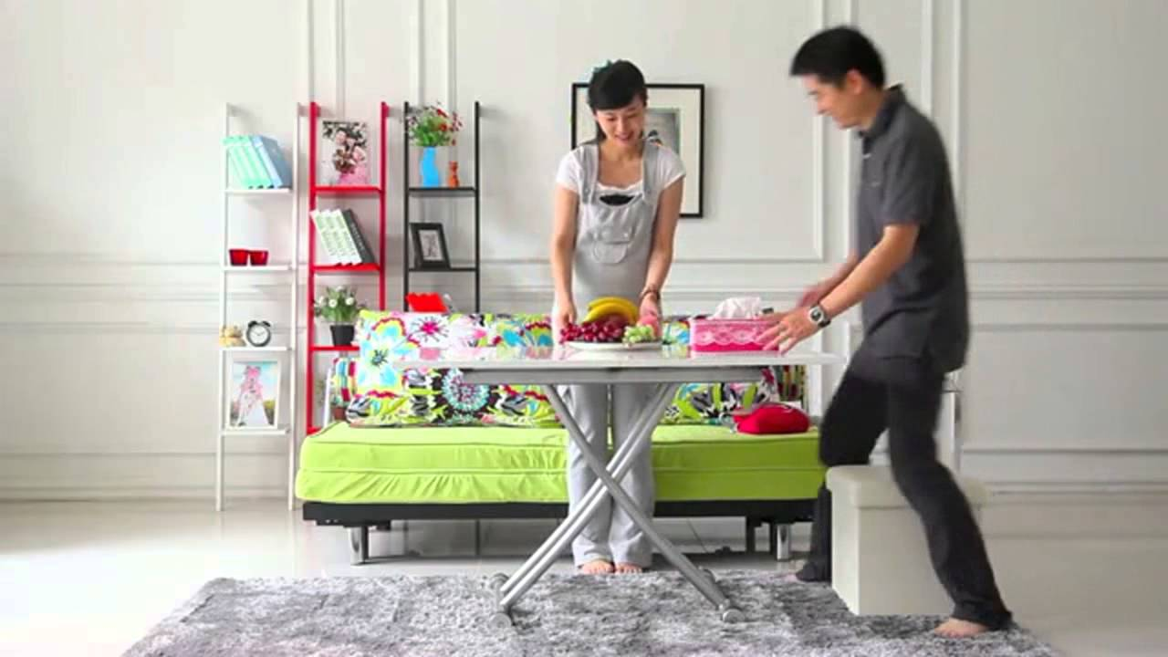 Multifunction Foldable Coffee Table