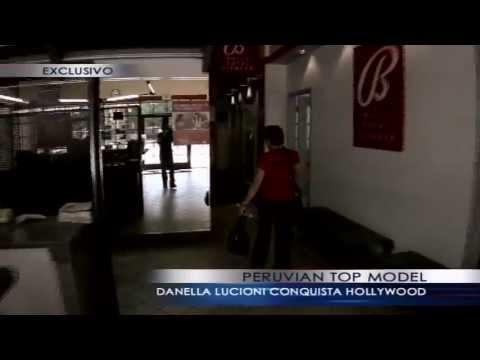 Peruvian Top Model Danella Lucioni - Entrevista