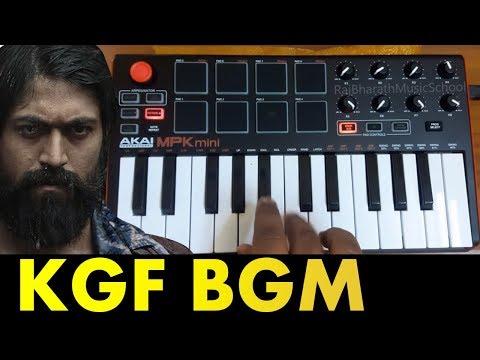 KGF MASS BGM COVER BY Raj Bharath   YASH