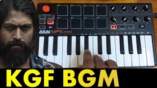 KGF MASS BGM COVER BY Raj Bharath | YASH