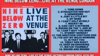 NINE BELOW ZERO...LIVE AT THE VENUE VICTORIA LONDON CIRCA 1979/80