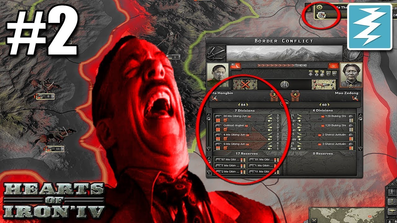 UNLIMITED BORDER CONFLICT EXPLOIT [2] Super Xibei San Ma - Hearts of Iron IV