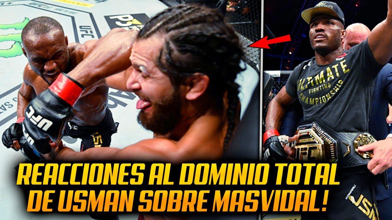 UFC 251: Los Profesionales REACCIONAN a la victoria DOMINANTE de Usman SOBRE Masvidal