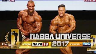 NABBA Mr Universe 2017 - OVERALL