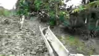 Water Slide at Rafiki Lodge