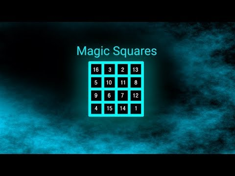 Das erste Community-Tool - Magische Quadrate von Richie - YouTube