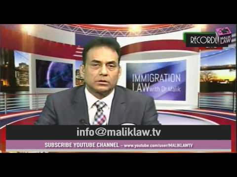 Immigration Law with Dr Malik 28th Jan 2017
