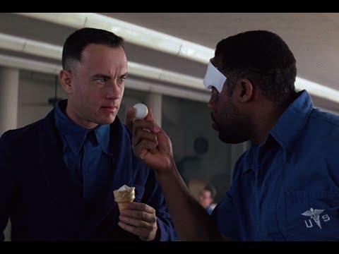 Форрест учится играть в пинг понг. Момент из фильма Форрест Гамп (1994)