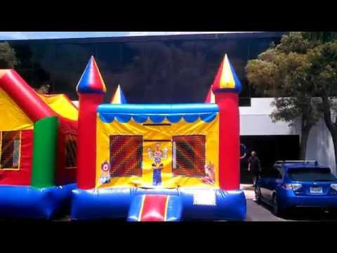 Thumbnail: 13x13 Circus Bounce House / Moonwalk / Moon Bounce / Jumper / Bouncy Castle / Bouncer