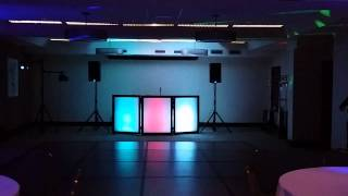DJ Deluxe DJ Booth Setup