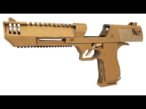 How To Make Cardboard DesertEagle That Sh00ts
