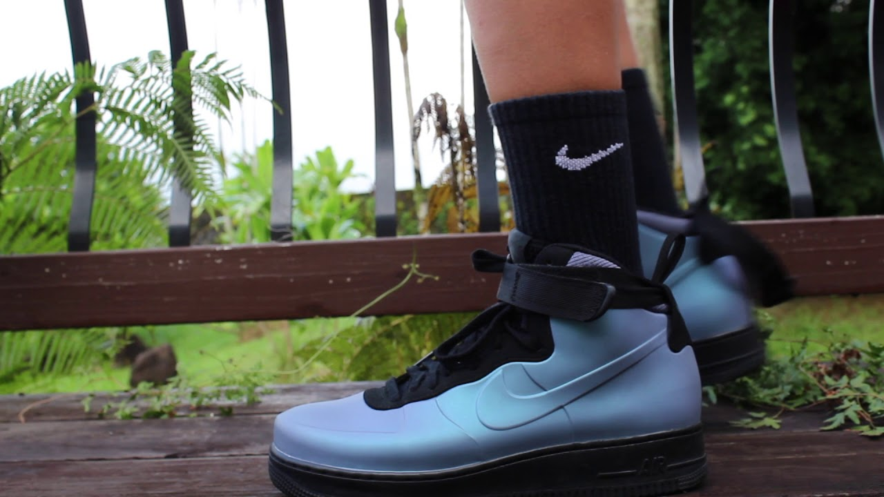 Air Force 1 Foamposite Cup On Foot Review