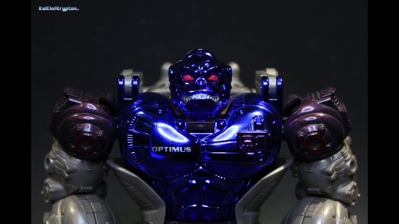 Beast Wars Transmetals Optimus Primal Kal El Reviews: Beast ...