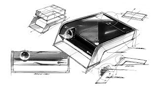 Product sketch & design(projector)