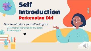 Self Introduction | Perkenalan Diri |How to Introduce yourself in English | Cara memperkenalkan diri