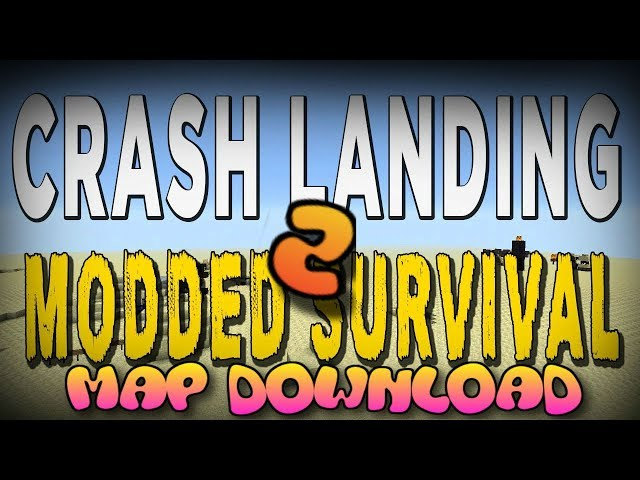 Minecraft: Xbox 360/One/Ps3/Ps4 - Crash Landing Modded