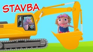 aut-bager-buldozr-mieaka-stavba-stavebn-stroje-pre-deti-hanika-a-murko