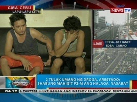 2 tulak umano ng droga, arestado sa Lapu-lapu City, Cebu