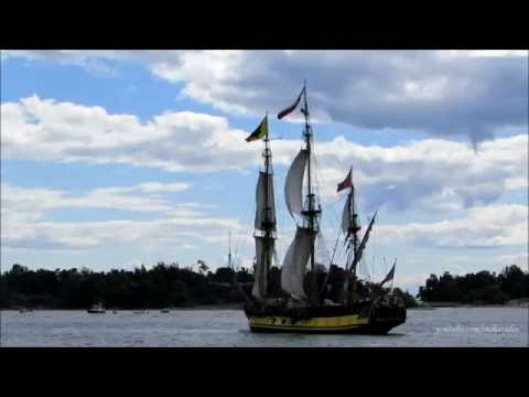 The Tall Ships Races 2013 - Sailing Vessels Departing Helsinki Port