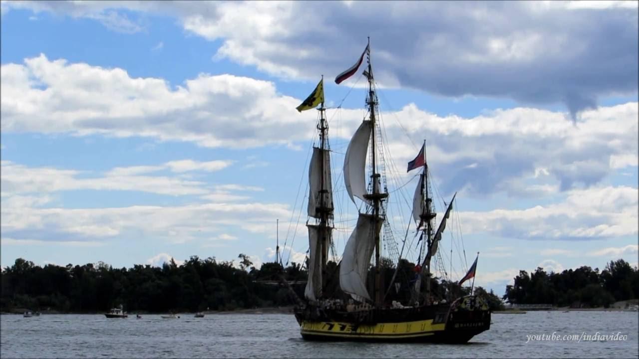 47b74f6512e1 The Tall Ships Races 2013 - Sailing Vessels Departing Helsinki Port -  YouTube