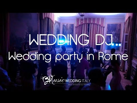MUSIC WEDDING ITALY -  Wedding party in Rome