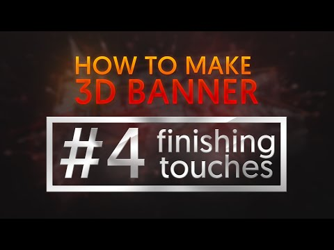 How to make rocky 3D Banner | #4 - Finishing Touches & Filters | by Saw PixeL