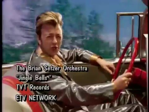 The Brian Setzer Orchestra - Jingle Bells 1996 (Plus B-Roll)