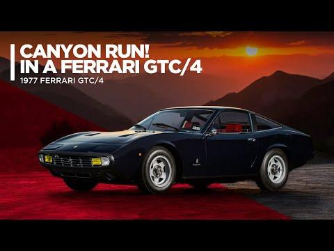 Sergio Pininfarina's 1971 Ferrari GTC/4