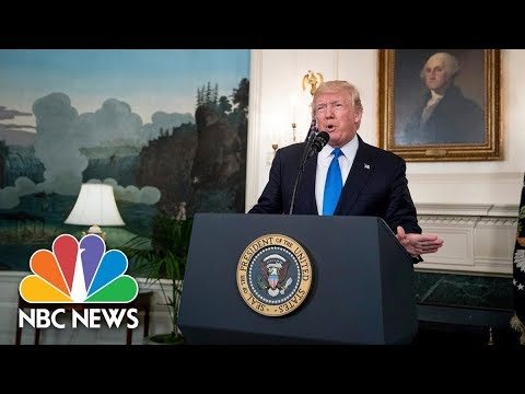 President Donald Trump Makes Announcement on Immigration Reform | NBC News