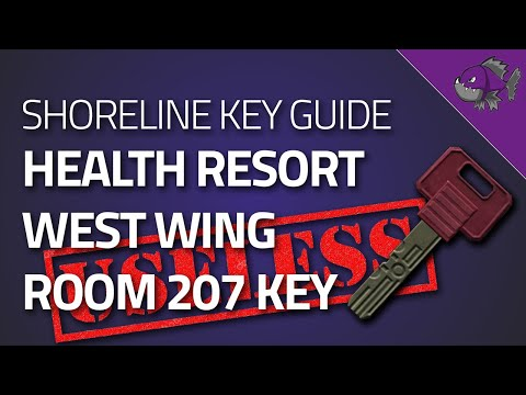 West Wing Room 207 Key - Key Guide - Escape From Tarkov