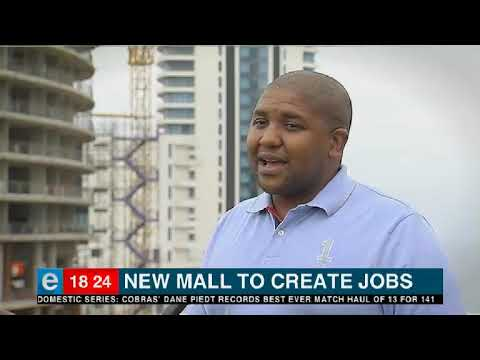 New mall to create jobs