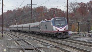 Amtrak & NJ Transit HD 60fps: Black Friday NEC Trains @ Princeton Junction, Metropark, & Elizabeth