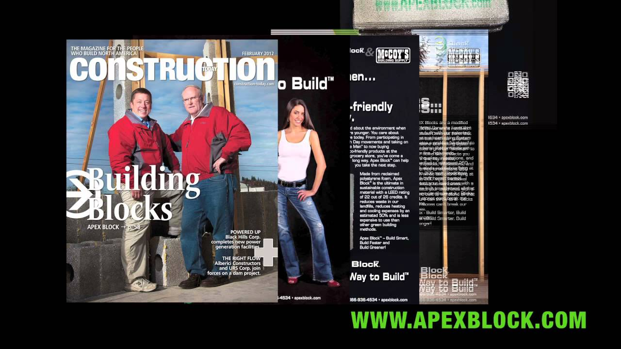 Apex block top rated insulated concrete form icf icf 39 s for Best icf block