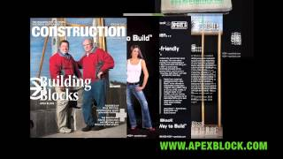 Apex Block Top Rated Insulated Concrete Form ICF ICF
