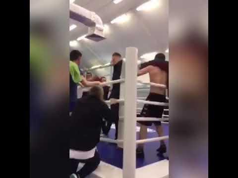 Массовая драка на соревнованиях по боксу. Новый Уренгой