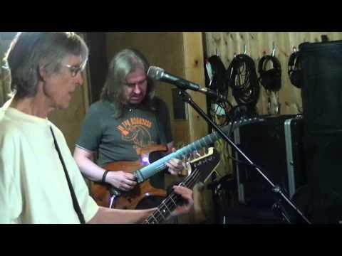 Warrior clip - Rehearsal 21.8.15 - Martin Turner ex Wishbone Ash