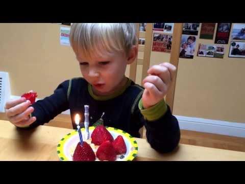 Happy birthday, Garrett