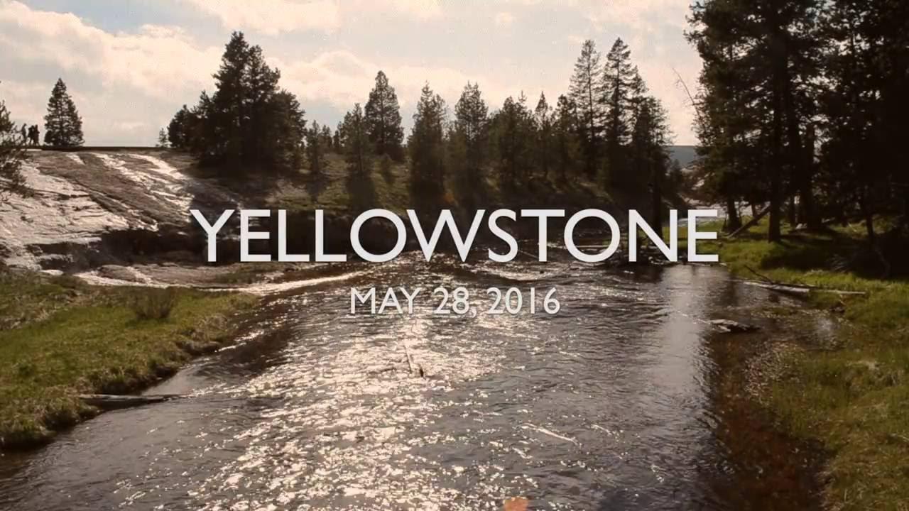 Yellowstone May 28, 2016 - YouTube First Photographs Of Yellowstone